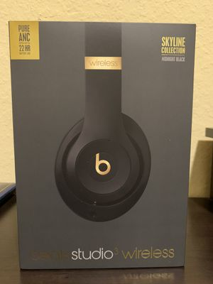 Beats Studio3 Wireless Noise Canceling Over-Ear Headphones for Sale in Irving, TX