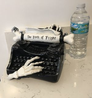 SMALL Bone Typewriter TABLETOP for Sale in Palm Springs, FL