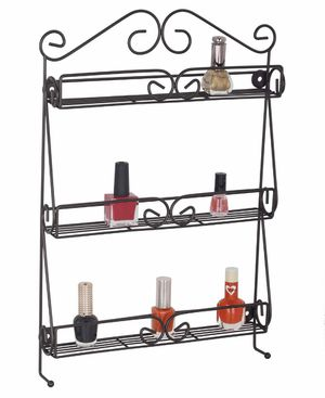 Uniware 3-Tier Over the Door Nail Polish Rack in Bronze for Sale in Hialeah, FL