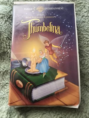 THUMBELINA VHS for Sale in Wichita, KS