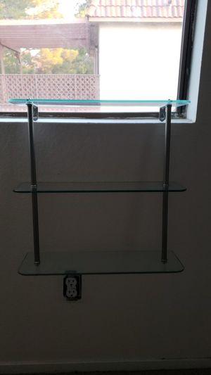 3 tier glass shelf for Sale in Henderson, NV
