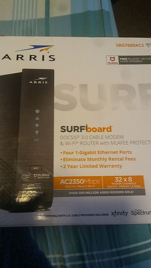 ARRIS SURFBOARD SBG7600AC2 for Sale in Fresno, CA