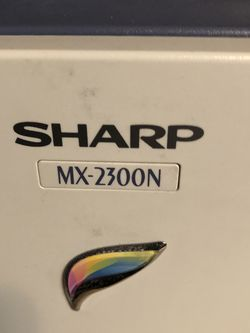 Sharp 2300N multifunction commercial Color Copier for Sale in Coraopolis,  PA