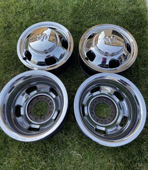 """17"""" ( 8)rims for Ram 3500 dually for Sale in Perris, CA"""