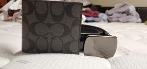 Men's Coach belt & Wallet for Sale in Lynwood, CA