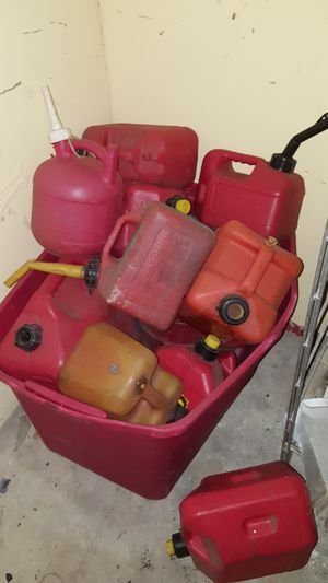 Gas cans for Sale in Norfolk, VA