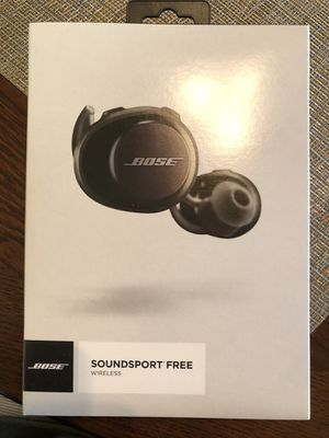 Bose SoundSport Free Wireless Headphones - Black for Sale in Cypress, CA