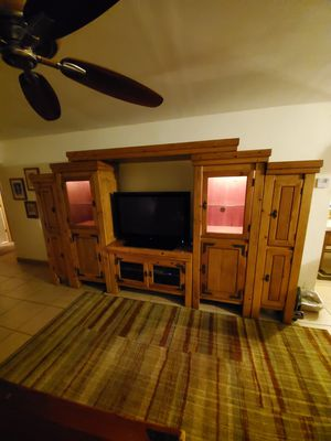 Solid wood Entertainment center for Sale in Pembroke Pines, FL