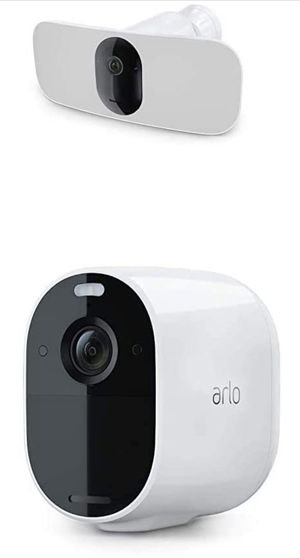 Arlo Pro 3 Floodlight Camera + Arlo Essential | Home Security Camera with 2K Video and HDR | Wire-Free, Weather-Resistant, Color Night Vision, Spotli for Sale in Fort Lee, NJ