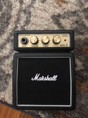 Desktop Marshall Practice Amp for Sale in Hanscom Air Force Base, MA