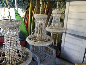 Nice chandelier lights for Sale in Los Angeles, CA