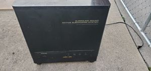 Pioneer powered subwoofer for Sale in Southgate, MI