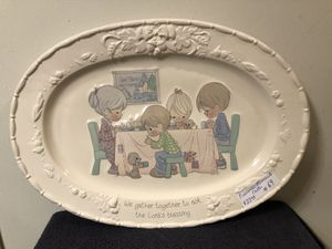 PRECIOUS MOMENTS TURKEY PLATTER for Sale in Roseville, CA