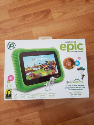 Leapfrog epic academy edition for Sale in Virginia Beach, VA