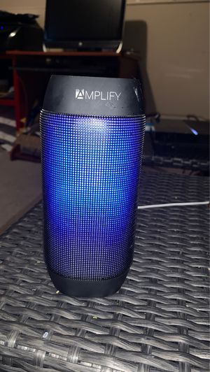 Bluetooth amplify LED speaker for Sale in Magna, UT