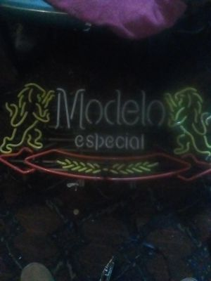 Modelo bar light for Sale in San Bernardino, CA