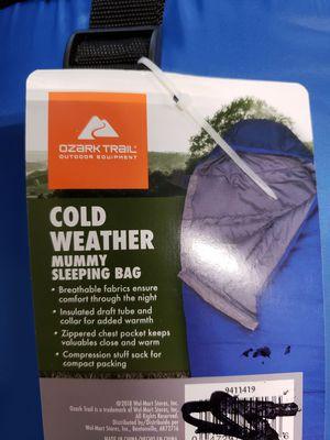 Ozark Trail Everest 15F Mummy Sleeping Bag. $20 FIRM for Sale in Redlands, CA