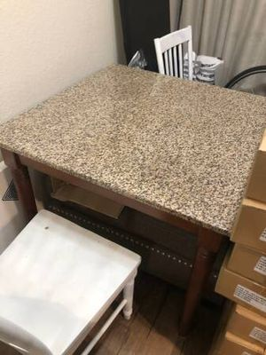 Granite kitchen dining table for Sale in Culver City, CA