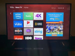 "TCL 49"" Smart TV Roku for Sale in Seffner, FL"