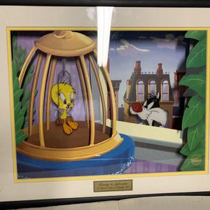 Animated Animations Looney Tunes collectible picture for Sale in Eastpointe, MI