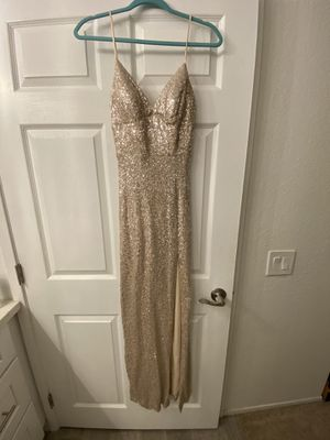 sequin dress - nude for Sale in San Diego, CA