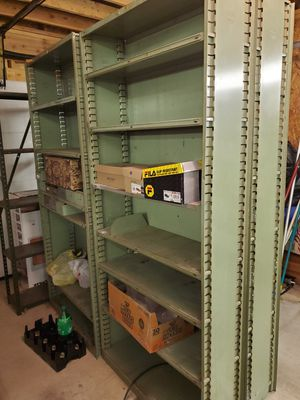 "Metal adjustable shelving 36""x72"" for Sale in Essex, MD"