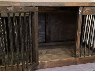 Handmade Dog Kennel/tv Stand for Sale in Oklahoma City,  OK
