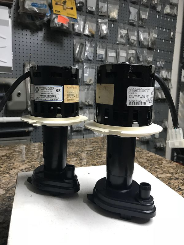 USED SCOTSMAN PRODIGY ICE MACHINE WATER PUMP for Sale in ...