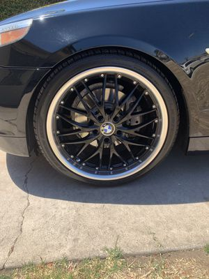 Falkin Rims & Tires 2 MONTHS OLD! for Sale in Lincoln Acres, CA