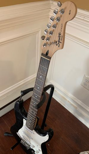 Squire strat fender electric guitar for Sale in Falls Church, VA