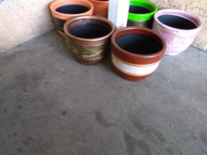 MASETEROS.... POTS FOR PLANTS for Sale in Lynwood, CA