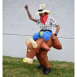 Inflatable Party Costume - Bull Rider Cowboy - Adult Sized for Sale in Kent, WA