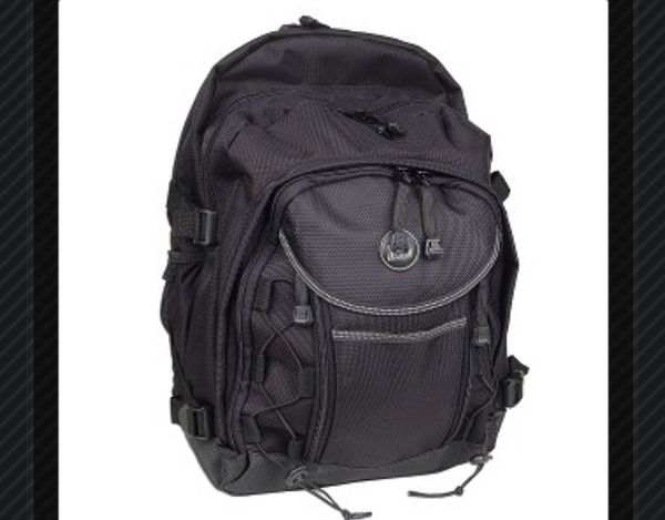 Pacific design action laptop backpack