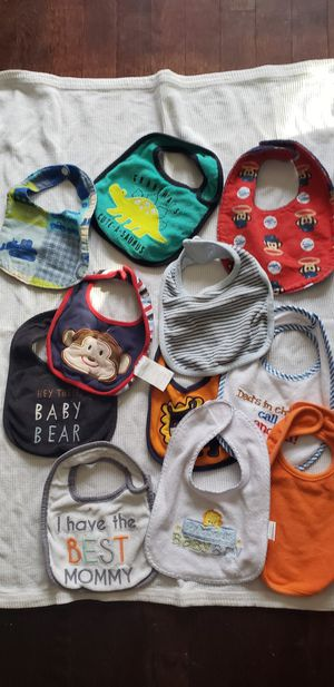 Assorted baby bibs for Sale in Lansing, MI