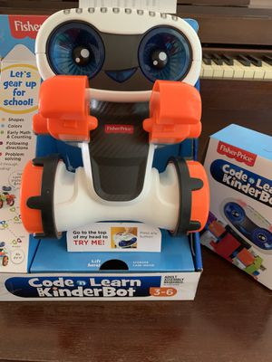 Fisher price coding kinderbots toy for Sale in Melbourne Village, FL