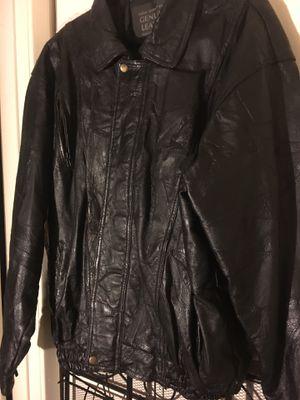 1X-2. Men's leather jacket for Sale in Arlington, TX