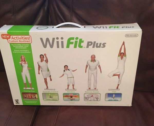 Wii fit plus Board with game New and Sealed