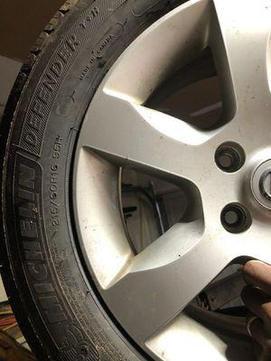 215/60/16 rims and tires Nissan Altima Rims for Sale in Smyrna, GA