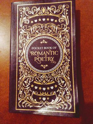 Pocket book of romantic poetry for Sale in San Antonio, TX