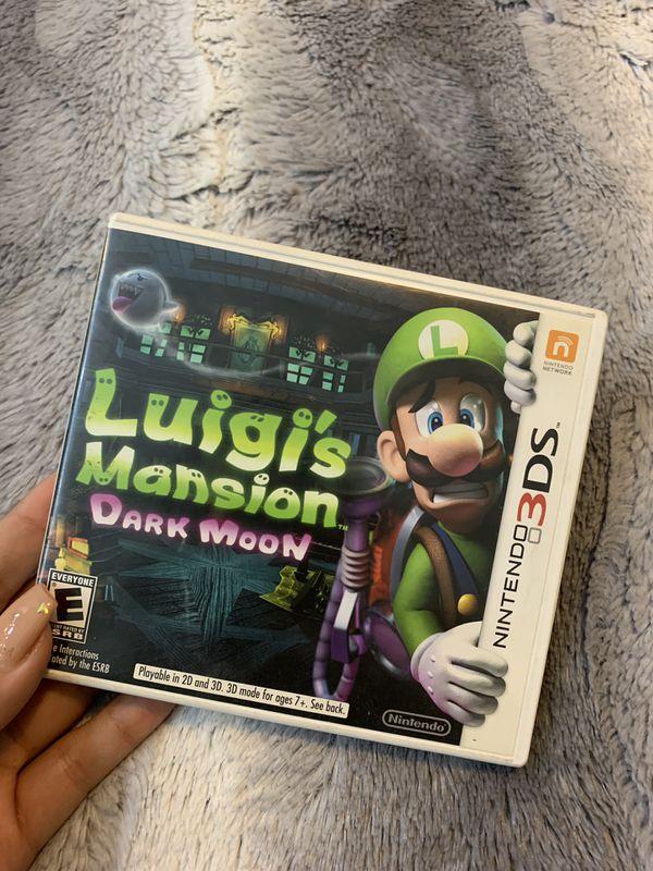 Luigi's Mansion Dark Moon 3DS