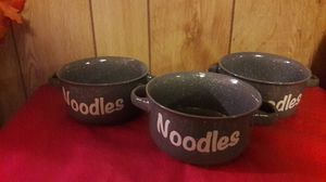 NEW Noodle Bowls 3 for $10 for Sale in Laredo, TX