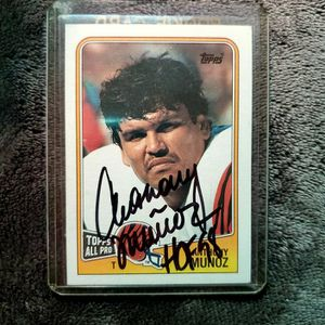 ☆1988 Anthony Munoz AUTOGRAPH Card☆ for Sale in Columbus, OH