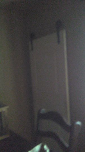30 inch door with track and hardwear for Sale in Deltona, FL