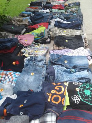 Yard sale all summer have ton's of stuff , kids toys, n clothes all sizes andbaby items, and much more starting july 1st till november 15 for Sale in Center Line, MI