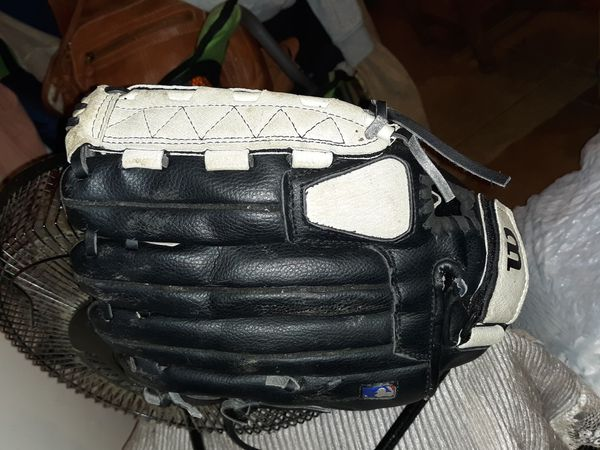 Wilson baseball glove and catchers helmet/mask