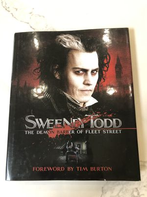 Sweeney Todd Book for Sale in Villa Park, CA