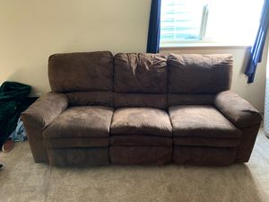 Sectional Couch / Recliner for Sale in Fountain, CO