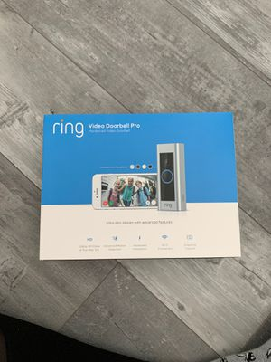 Ring video doorbell pro. New in Box for Sale in Pembroke Pines, FL