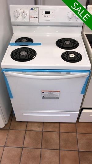 FREE DELIVERY!! Frigidaire CONTACT TODAY! Electric Stove Oven White #1501 for Sale in Fort Washington, MD
