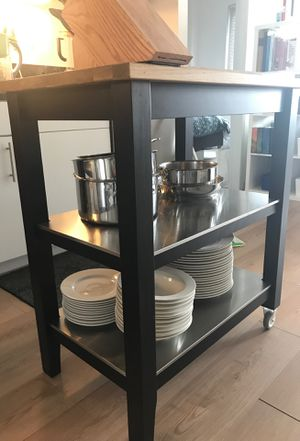 Ikea kitchen island in perfect shape for Sale in Washington, DC
